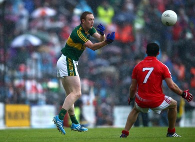 Colm Cooper in action on Saturday night against Cork.