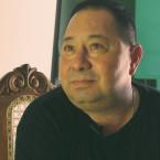 Community activist Manuel Ortega, in his office, in Suchitoto, in central El Salvador.