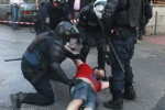 Reports of stun grenades from police as protests swell in Athens