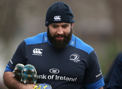 Hagan: will have a third spell at Leinster before heading for Australia.