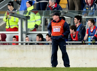 John Cleary is coach of the Cork ladies minor football team.
