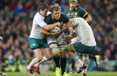 One of the best back rows in the game may miss the Rugby World Cup