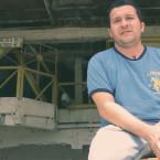 Social activist Juan Valencia, the coffee co-op in San Isidro.