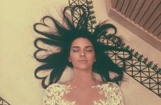 Kendall Jenner has beaten Kim Kardashian to an Instagram world record… it's the Dredge