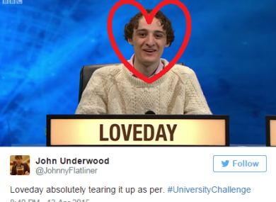 University challenge is back on BBC 2 at 8pm