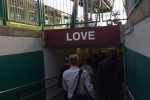 Connolly Station has a new sign and it's been cheering up commuters
