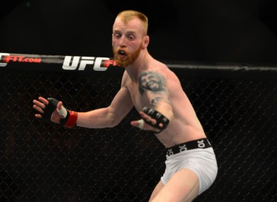 Irish UFC flyweight Paddy Holohan.