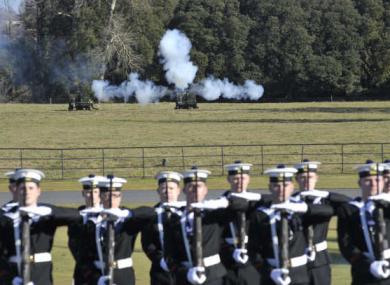 Members of 2nd Field Artillery Regiment