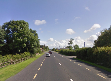 The N21 between Newcastle West and Rathkeale