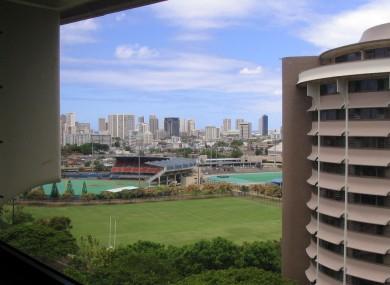 University of Hawaii Campus.
