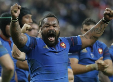 Bastareaud has been back in the team since 2013.
