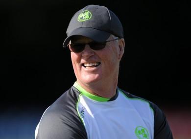 Bracewell believes Ireland remain on track despite recent setbacks.