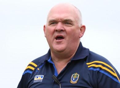 Former Roscommon manager John Evans