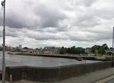 Thomond Bridge in Limerick.