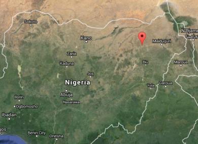 Damaturu is in Nigeria's north-east.