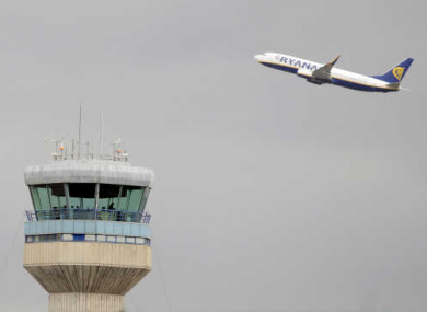 The ATC tower at Dublin Airport