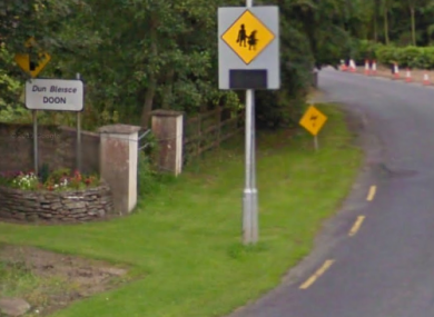 The 62-year-old was found by gardaí in his front drive at the home in Toomaline, near Doon.