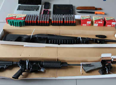 Guns, ammunition and hunting knives found by police ahead of the Pokemon World Championship.