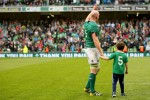 In pictures: Paul O'Connell waves goodbye after last home Test
