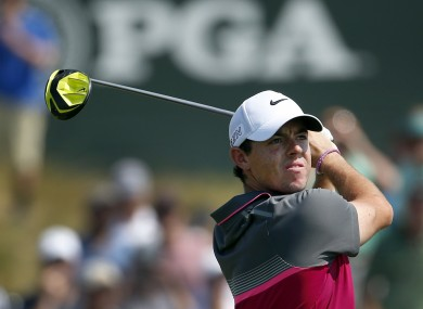 McIlroy is making his move on Saturday.