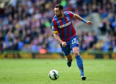 Damien Delaney signed a new contract with Palace at the end of last season.