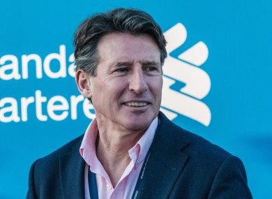 Sebastian Coe spoke about how 'momentous' an occasion his new appointment was.