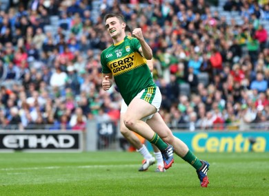 Stephen O'Brien scored one of Kerry's seven goals on Sunday.
