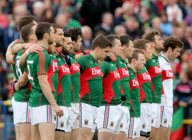 Mayo completed a five-in-a-row in Connacht this year.