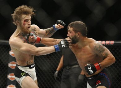 Chad Mendes wants another shot at Conor McGregor.
