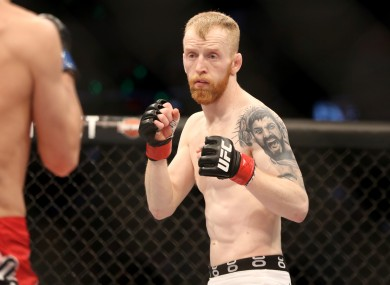 Irish UFC star Paddy Holohan.