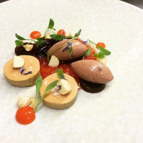 22 dishes served in ireland s newest michelin star restaurants for Foie gras canape