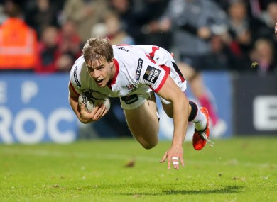 Trimble: Ospreys game will be his first competitive Ulster cap in more than 10 months.