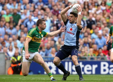 Bernard Brogan: Dubs star visited the Ireland team hotel recently.