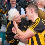 While Cillian Buckley shared a lovely moment with his grandmother Mary.<span class=