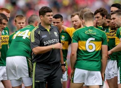Éamonn Fitzmaurice has picked his Kerry team to start against Dublin.