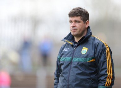 Kerry manager Eamonn Fitzmaurice guided his side to this year's All-Ireland final.