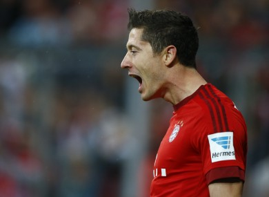 We think Lewandowski added a manager.