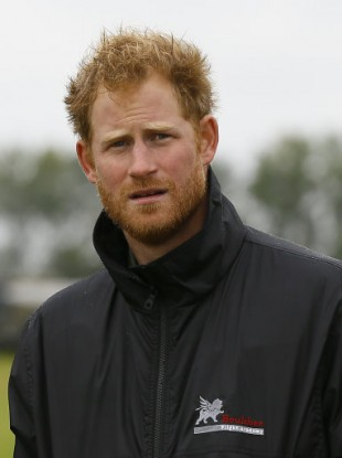 Prince Harry, who is fifth in line for the throne.