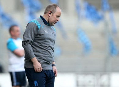 Dublin ladies senior football team manager Gregory McGonigle.