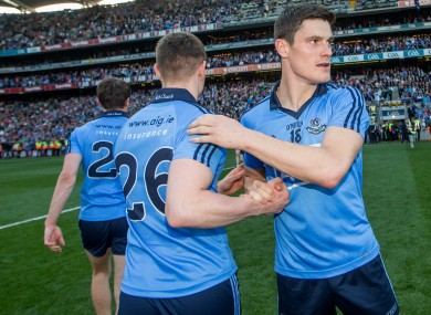 Diarmuid Connolly after the match.