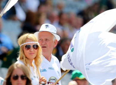 The Kildare fans enjoyed what they saw at Parnell Park.