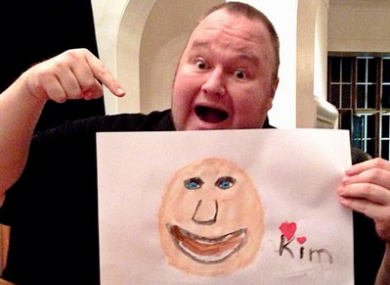 Kim Dotcom is fighting extradition to the US.