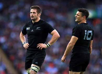 McCaw and Carter start in a strong New Zealand XV.