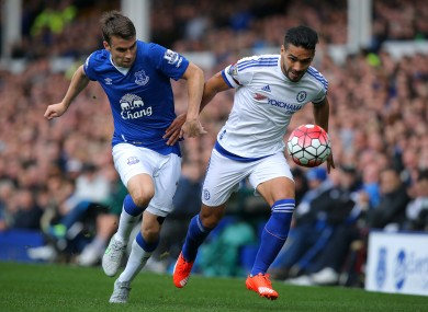 Coleman played 77 minutes in Everton's 3-1 win.