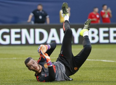Will David de Gea make his way back into Manchester United's first team?