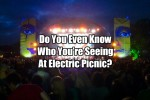 Do You Even Know Who You�re Seeing At Electric Picnic?