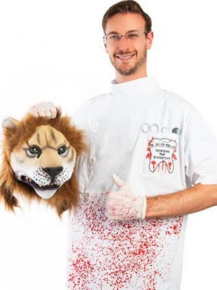 An actual Halloween costume, on sale in the US.