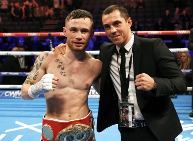 Frampton and Quigg could fight as early as February.