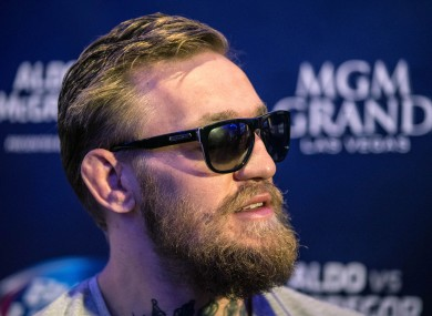 McGregor will be appearing in Waterford, Cork and Dublin in the coming days.