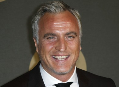 Former France international David Ginola